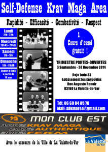 Flyers A5 tpo SDKM AREA - Mairie La Valette