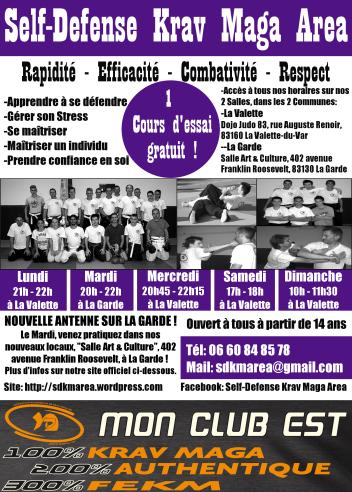 Flyers SDKM AREA La Valette - La Garde